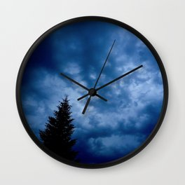 Stormy Day Photography Wall Clock