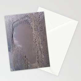 Sometimes love is just a pothole in the road of life. Stationery Cards