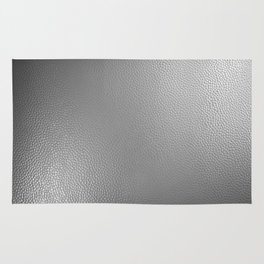 Alloy Plate Black & White Photography Rug