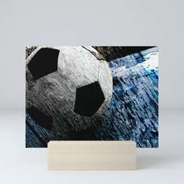 Soccer art variant vs 1 Mini Art Print