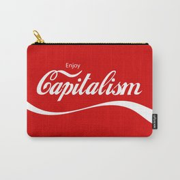 Enjoy Capitalism Carry-All Pouch