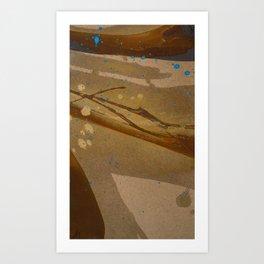 joelarmstrong_rust&gold_073 Art Print