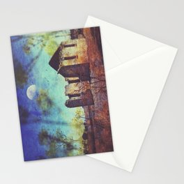 The ruin of St Marys Stationery Cards