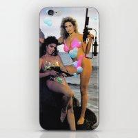 guns iPhone & iPod Skins featuring Bubble Guns by Woah Jonny