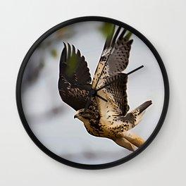 Taking Flight Wall Clock