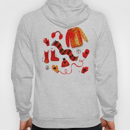 Baby It's Cold Outside - Winter Warmers Watercolor Hoody