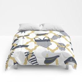 Nautical Flip Flops Comforters