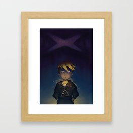 waiting for the world to end Framed Art Print