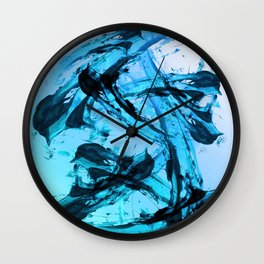 Cold Expressions Wall Clock