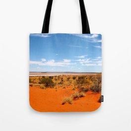 Outback Saltflats Tote Bag