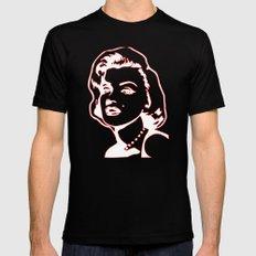 Marilyn Monroe Mens Fitted Tee MEDIUM Black