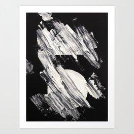 Auf Asche II Art Print
