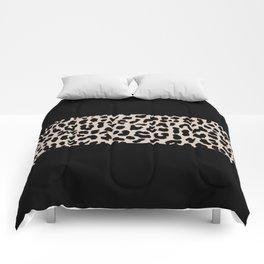 Leopard National Flag VI Comforters