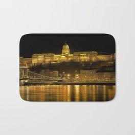 Budapest Golden Night Bath Mat