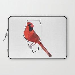 Illinois – Northern Cardinal Laptop Sleeve