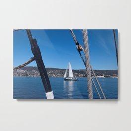 Gone Sailing Metal Print
