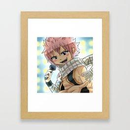 Natsu Singing. Framed Art Print