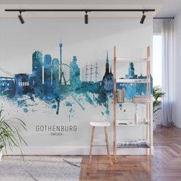 Gothenburg Sweden Skyline Wall Mural