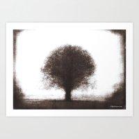 Tree - photopolymer/gravure Art Print
