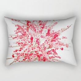 Frozen red Rectangular Pillow