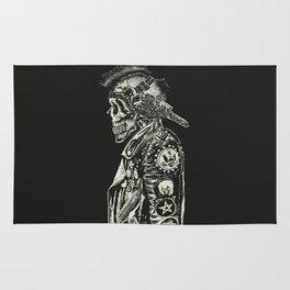 Head Crow Rug