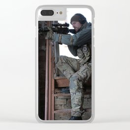 Blackgoat's Over watch Clear iPhone Case