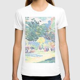 Landscape by Henri-Edmond Cross 1904, French T-shirt