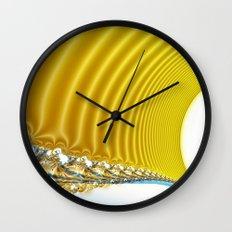 postcard from venus Wall Clock