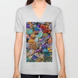 Rocks and Minerals, Geology Unisex V-Neck