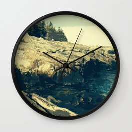 Ocean Point, East Boothbay Wall Clock