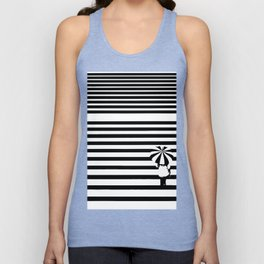 Rainy lines Unisex Tank Top