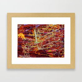 Losing Your Virginity to Someone You Love Framed Art Print