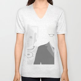 """Doctor Who 50th Anniversary Posters - """"The 10th Doctor"""" Unisex V-Neck"""