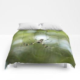 Orb Weaver Spider Comforters