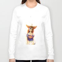 3d Long Sleeve T-shirts featuring 3D by Kate  Fox
