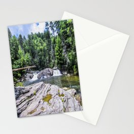 Lower Fall View Stationery Cards