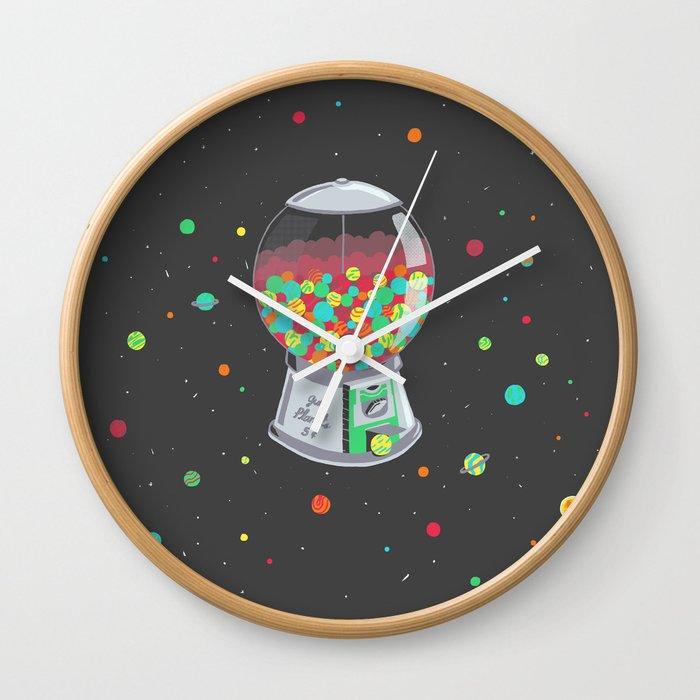 The Delicious Origin of the Universe Wall Clock