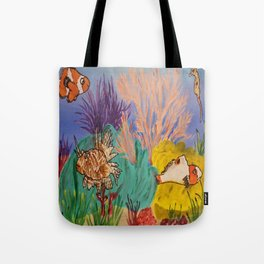 Circus Under the Sea Tote Bag