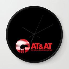 AT&AT Communication Wall Clock