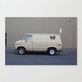 Wu Tang Van Canvas Print