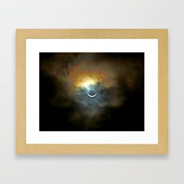 Solar Eclipse II Framed Art Print