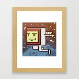 Space Dood Framed Art Print