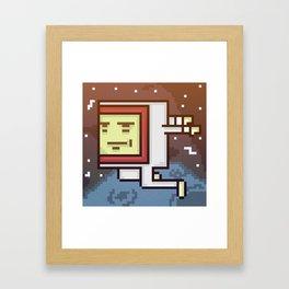 Space Dood Framed Art Print