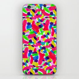 Colourful Abstract iPhone Skin