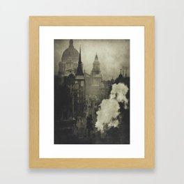 Coburn, Alvin Langdon. LONDON, WITH AN INTRODUCTION BY HILAIRE BELLOC Framed Art Print