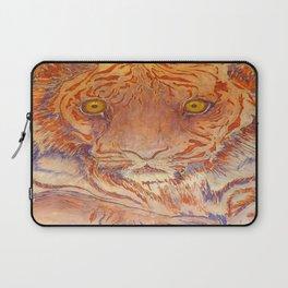Braveheart - Handpainted Silk Tigercup Laptop Sleeve