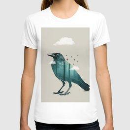 Teal Raven T-shirt