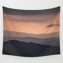 Blue Ridge Parkway Sunset - Shenandoah National Park Wall Tapestry