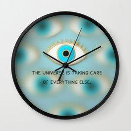 takingcareofit Wall Clock