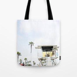 San Diego Beach Lifeguard Hut Tote Bag